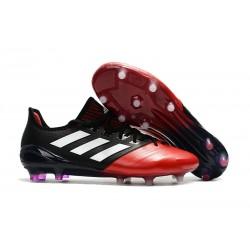 Meskie Buty piłkarskie Adidas Ace 17.1 FG Czarny Biały Czerwony
