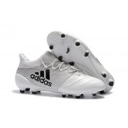 Korki Piłkarskie Meskie Buty adidas X 17.1 FG Biało Czarny