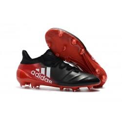 Nowe Buty - Profesjonalne adidas X 17.1 FG - Czarny Czerwony