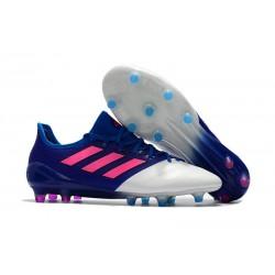 Meskie Buty piłkarskie Adidas Ace 17.1 FG Niebieski Różowy Biały