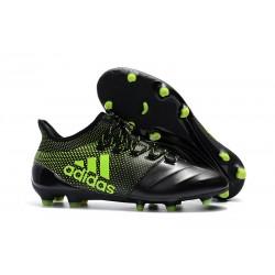 Nowe Buty - Profesjonalne adidas X 17.1 FG - Czarny Zielony