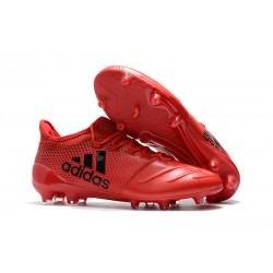 Nowe Buty - Profesjonalne adidas X 17.1 FG - Czerwony Czarny