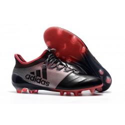 Meskie Buty piłkarskie adidas X 17.1 FG - Różowy Czarny