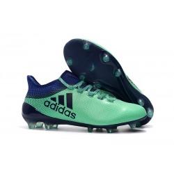 Tanie Buty Piłkarskie adidas X 17.1 FG - Zielony Aero Atramentowy Zielony