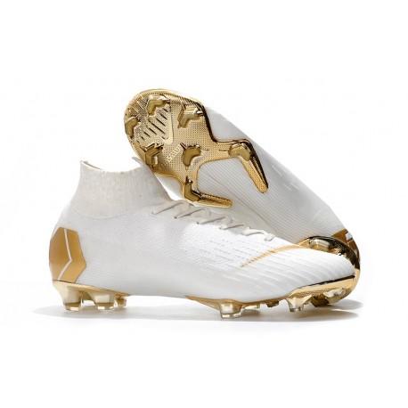 Tanie buty piłkarskie Nike Mercurial Superfly VI 360 Elite FG Żółty Czarny
