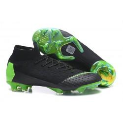 Tanie buty piłkarskie Nike Mercurial Superfly VI 360 Elite FG - Czarny Zielony