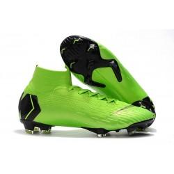 Tanie buty piłkarskie Nike Mercurial Superfly VI 360 Elite FG Biało Czarny