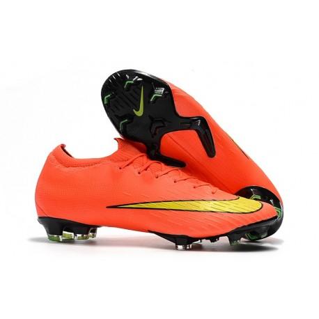 Buty piłkarskie Nike Mercurial Vapor XII Elite FG Pomarańczowy Czarny