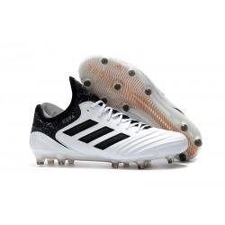 Buty Piłkarskie Meskie Adidas Copa 18.1 FG Białe Złoto