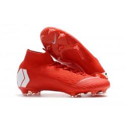 Nowe Nike Mercurial Superfly VI 360 Elite FG Korki Pilkarskie - Czerwony Biały