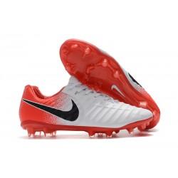 Buty piłkarskie Sklep Nike Tiempo Legend VII FG Biały Czerwony Czarny