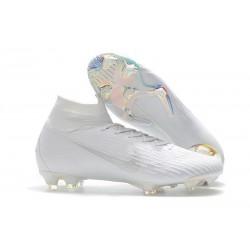 Tanie buty piłkarskie Nike Mercurial Superfly VI 360 Elite FG Wszystko Białe
