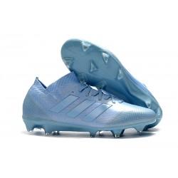 Buty piłkarskie Meskie Adidas Nemeziz Messi 18.1 FG Niebieski