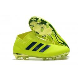 Profesjonalne - Korki Piłkarskie adidas Nemeziz 18+ FG - Zielony Czarny