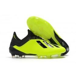 Meskie Buty piłkarskie Adidas X 18.1 FG Żółty Czarny