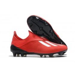 Korki Piłkarskie Nowe Adidas X 18+ FG Czerwony Srebro