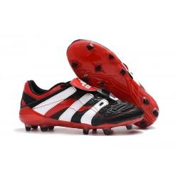 Korki Piłkarskie Adidas Predator Accelerator Electricity FG Czarny Biały Czerwony