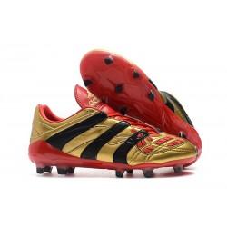 Korki Piłkarskie Adidas Predator Accelerator Electricity FG Złoty Czerwony Czarny