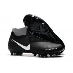 Korki Piłkarskie Nike Phantom Vision Elite DF FG - Czarny Czerwony Biały