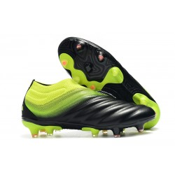 Korki Piłkarskie Adidas Copa 19+ FG Meskie - Czarny Zielony