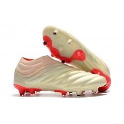 Nowe Buty piłkarskie Adidas Copa 19+ FG Biały Solar Czerwony