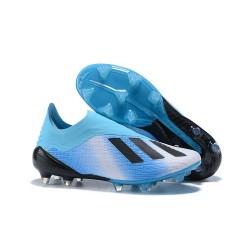 Korki Piłkarskie Tanie adidas X 18+ FG Niebiesko Czarny