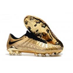 Nowe Buty piłkarskie Nike HyperVenom Phantom 3 FG Złoty Czarny