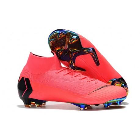 Nike Mercurial Superfly 6 Elite FG Buty Piłkarskie Różowy Czarny