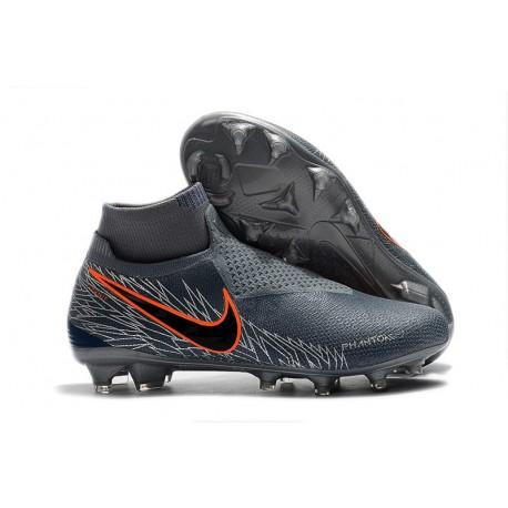 Meskie Buty piłkarskie Nike Phantom VSN Elite DF FG - Wilczy Srebro