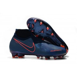 Meskie Buty piłkarskie Nike Phantom VSN Elite DF FG - Fully Charged Niebieski