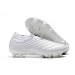 Profesjonalne Buty piłkarskie Adidas Copa 19+ FG Biały