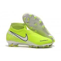 Nike Phantom VSN Elite DF FG - Fluorescencyjny Żółty Biały