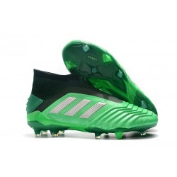 Adidas Predator 19+ FG Buty Piłkarskie - Zielony Czarny
