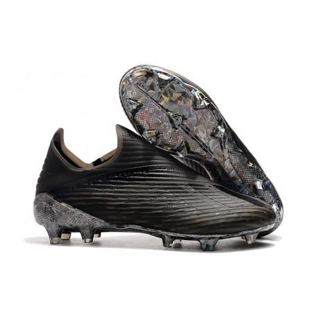 "adidas Predator 19+ FG Korki Pilkarskie - ""DARK SCRIPT"" Czarny"