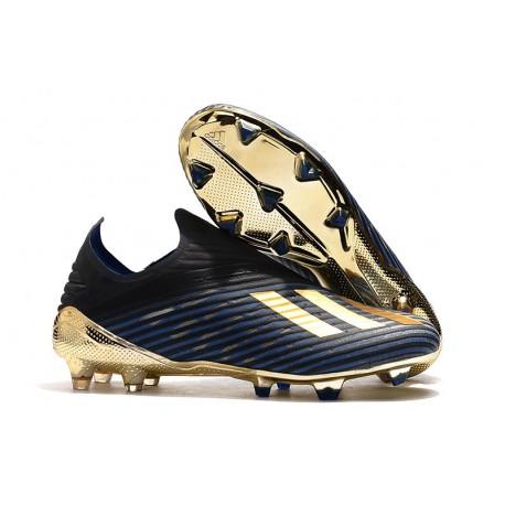 """adidas Predator 19+ FG Korki Pilkarskie - """"Inner Game"""" Czarny Niebieski Złoty"""