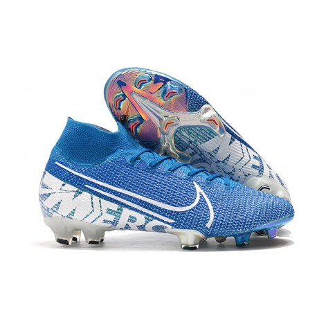 Nike Mercurial Superfly VII Elite FG Korki - New Lights Niebieski