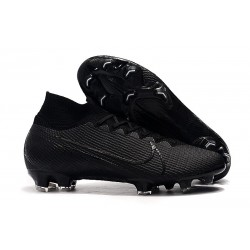 Nike Mercurial Superfly VII Elite FG Korki - Under The Radar Czarny