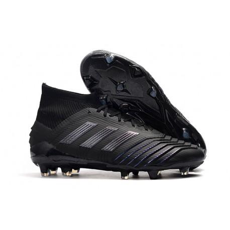 Sklep - Korki Piłkarskie adidas Predator 19.1 FG Czarny