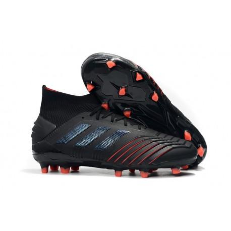 Sklep - Korki Piłkarskie adidas Predator 19.1 FG Archetic Czarny