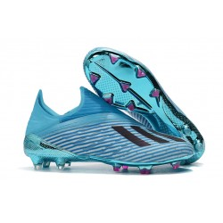 adidas Predator 19+ FG Korki Pilkarskie - Niebieski Czarny