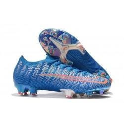 Buty piłkarskie korki Nike Mercurial Vapor 13 Elite FG Niebieski Czerwony