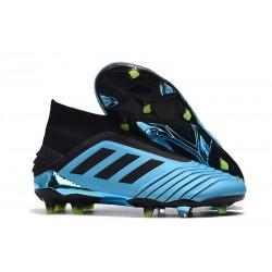 Adidas Korki Piłkarskie Predator 19+ FG Niebieski Czarny