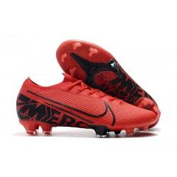 Buty piłkarskie korki Nike Mercurial Vapor 13 Elite FG Czarny Czerwony