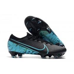 Buty piłkarskie korki Nike Mercurial Vapor 13 Elite FG Czarny Niebieski
