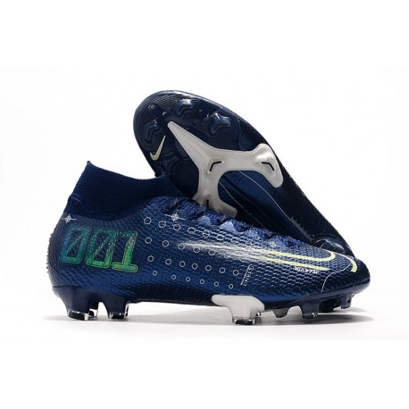 Nike Dream Speed Mercurial Superfly VII Elite FG Korki - Niebieski
