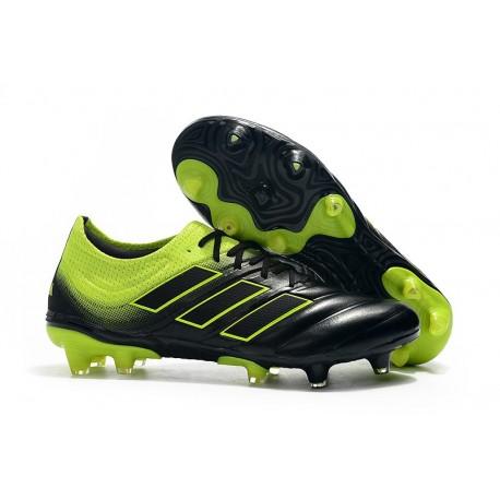 Profesjonalne Buty piłkarskie Adidas Copa 19.1 FG Czarny Zielony