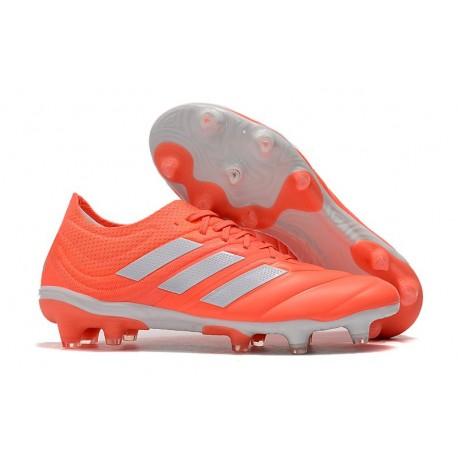 Profesjonalne Buty piłkarskie Adidas Copa 19.1 FG Czerwony Biały
