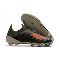 adidas Predator 19+ FG Korki Pilkarskie - Zielony/Pomarańczowy/Kremowy