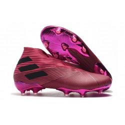 Adidas Buty Piłkarskie Nemeziz 19+ FG - Różowy Czarny
