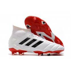 Sklep - Korki Piłkarskie adidas Predator 19.1 FG Biały